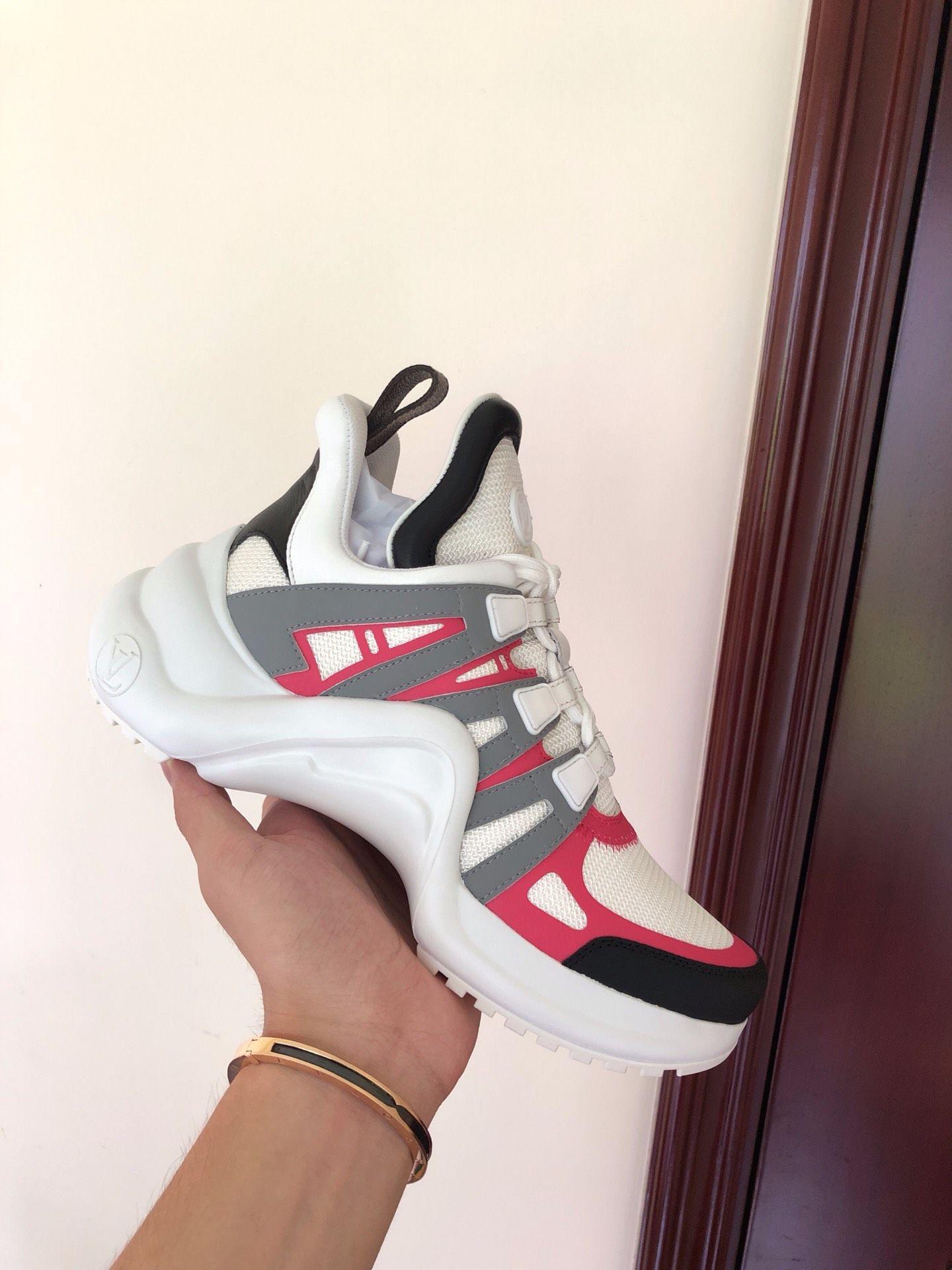 newest    archlight sneaker Rose Clair Pink  1A4X75    women sneaker  5