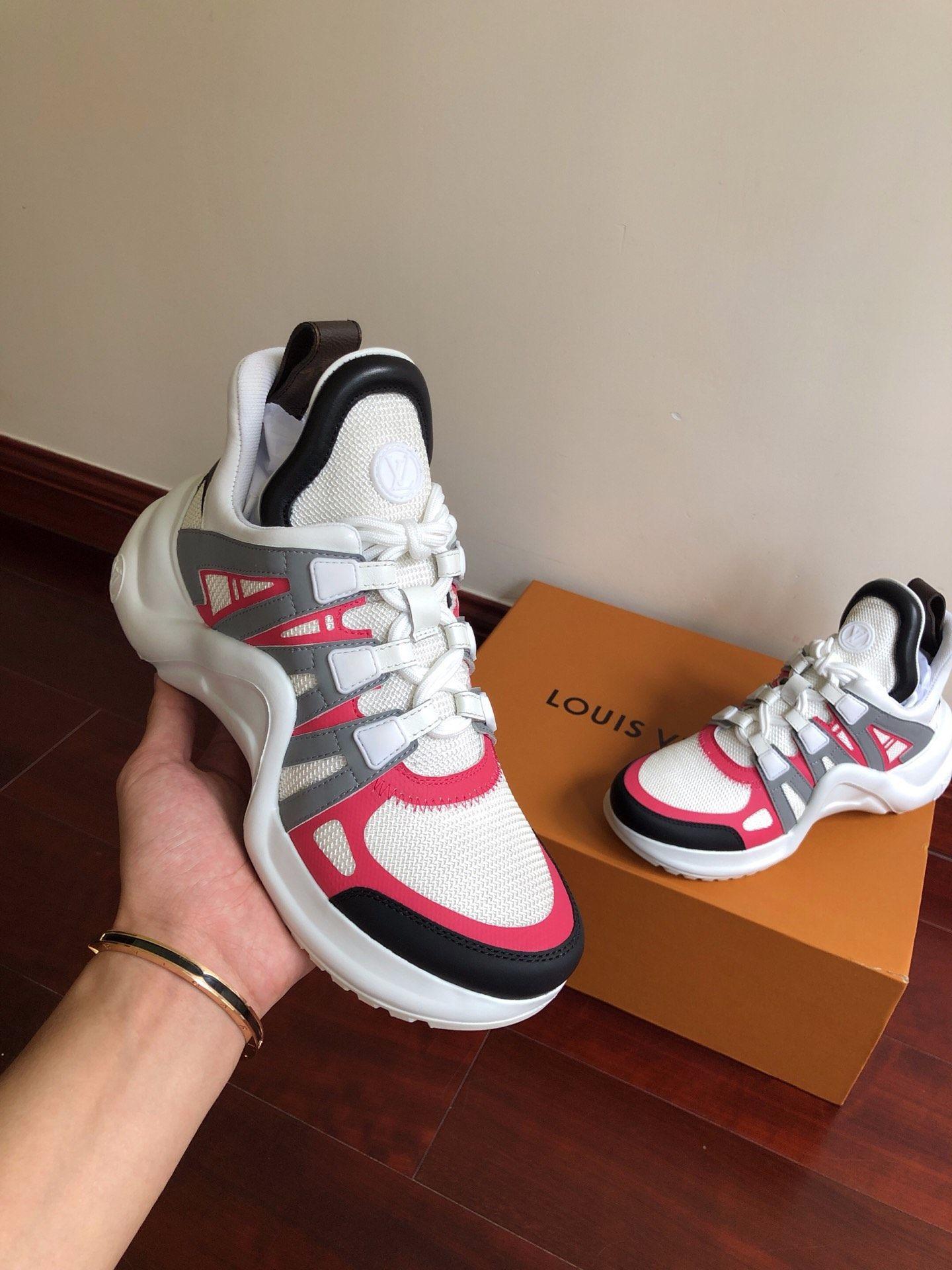 newest    archlight sneaker Rose Clair Pink  1A4X75    women sneaker  7
