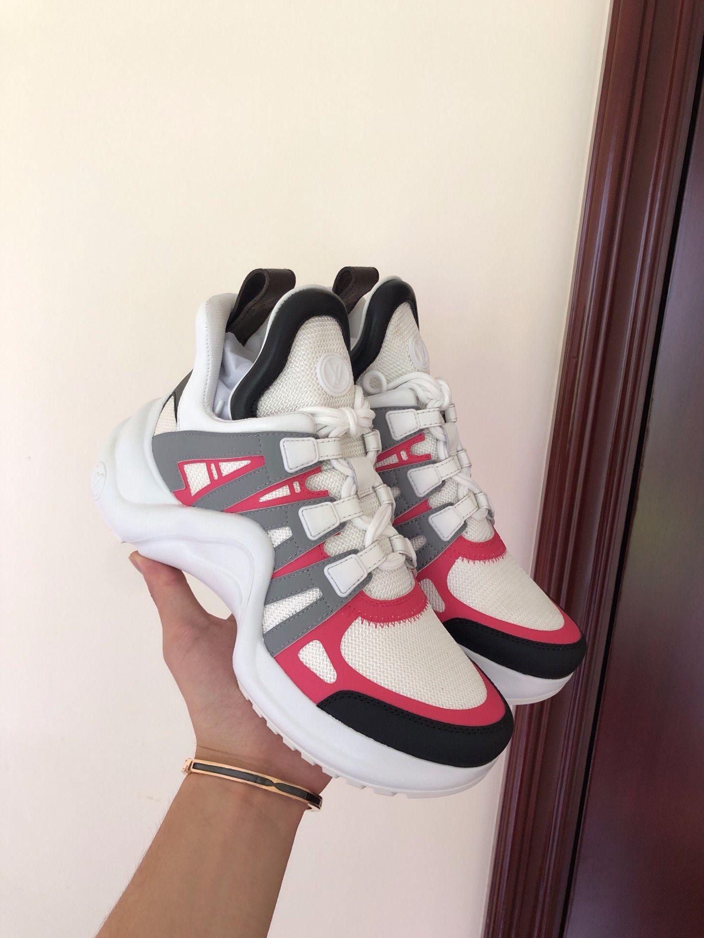 newest    archlight sneaker Rose Clair Pink  1A4X75    women sneaker  9