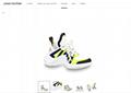 archlight sneaker Jaune 1A4X6Q    women