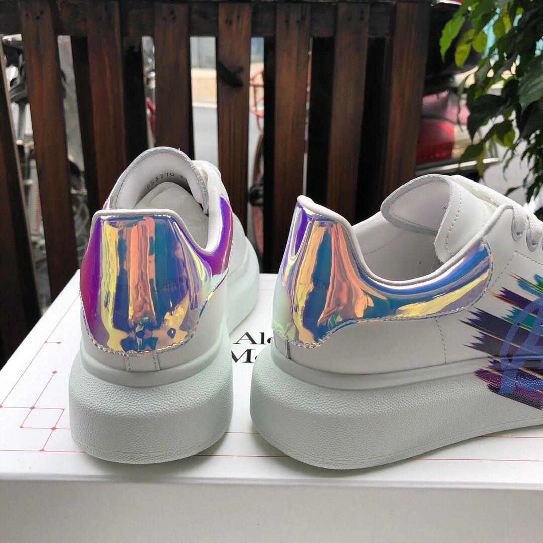 alexander         oversized sneaker mcuqueen white sneanker 4
