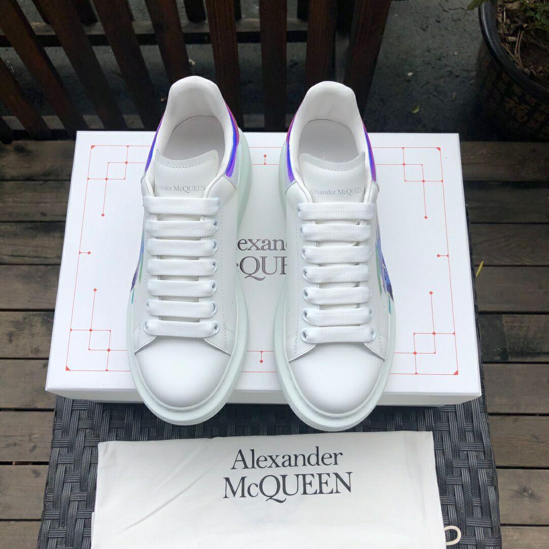 alexander         oversized sneaker mcuqueen white sneanker 5
