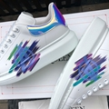 alexander         oversized sneaker mcuqueen white sneanker 8