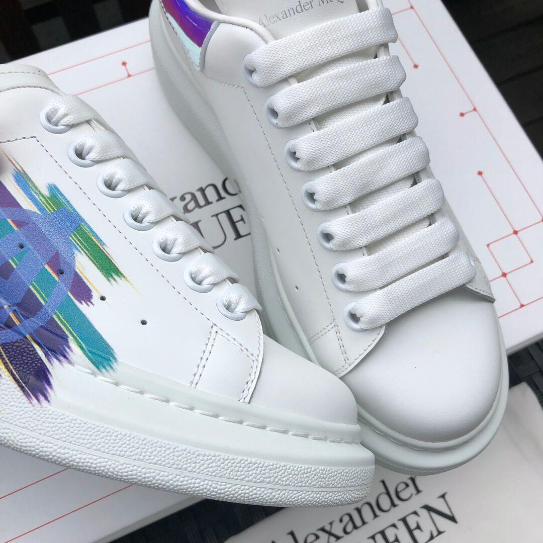 alexander         oversized sneaker mcuqueen white sneanker 9