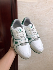 lv trainer sneaker Green  lv sneaker lv shoes 1A54HU