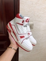 trainer sneaker mid top    sneaker Red     men shoes1A54IC   3