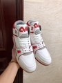 trainer sneaker mid top    sneaker Red     men shoes1A54IC   4