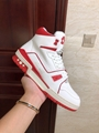 trainer sneaker mid top    sneaker Red     men shoes1A54IC   2