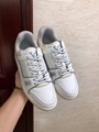 lv trainer sneaker Grained calf leather white lv sneaker 1A5PZO lv sneaker lv  4