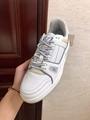 lv trainer sneaker Grained calf leather white lv sneaker 1A5PZO lv sneaker lv  6