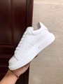 alexander mcqueen oversized sneaker white calfskin mcqueen sneaker  5