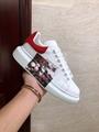 alexander mcqueen oversized sneaker lace-up sneaker  with 3D print mcuqeen shoes