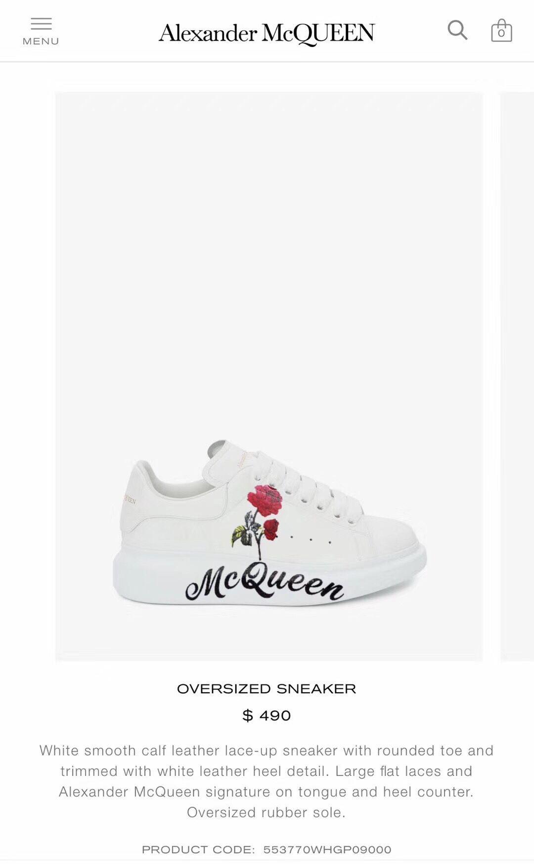 alexander         oversized sneaker         lace-up sneaker  2