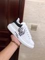 alexander mcqueen oversized sneaker mcqueen lace-up sneaker calskin