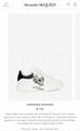 alexander         oversized sneaker         lace-up sneaker calskin  2