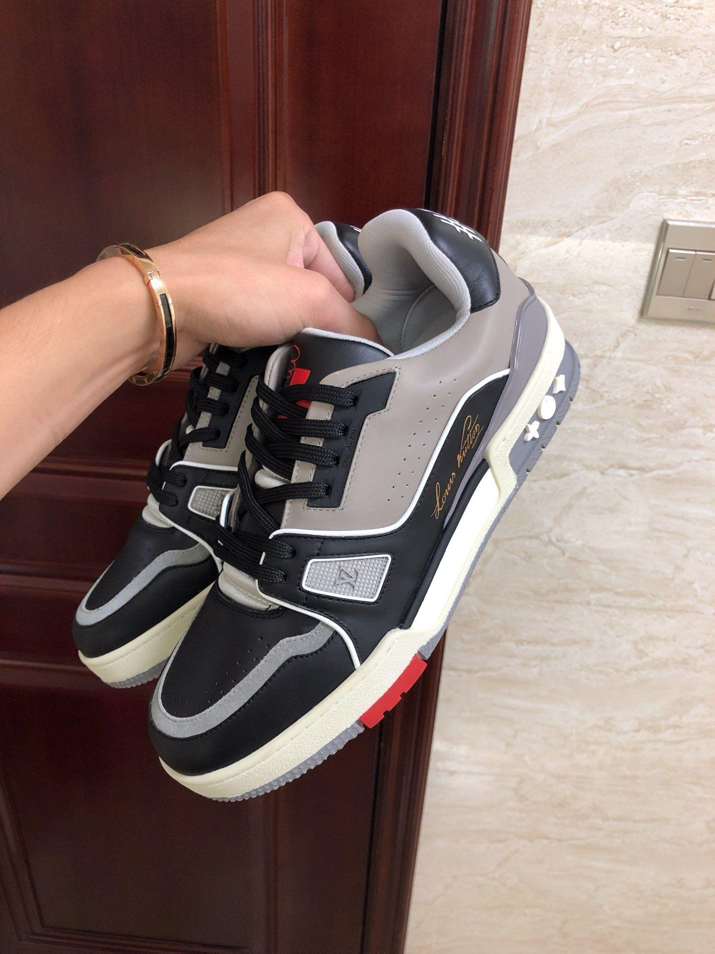 trainer sneaker Calf leather Black 1A54H5    sneaker    shoes  4