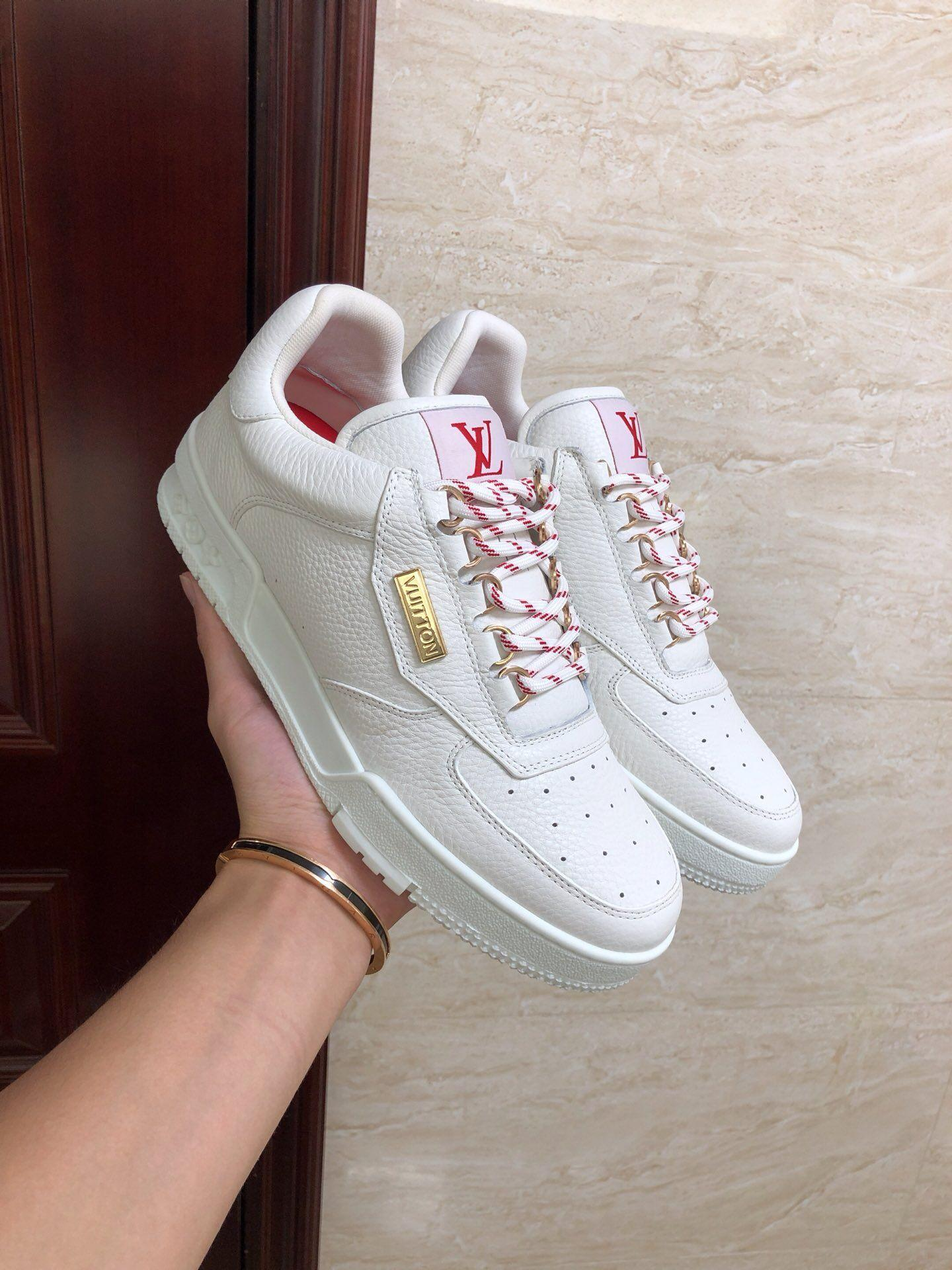 lv trainer sneaker lv  vintage basketball sneaker lv shoes 1A5EN0 1
