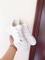 DIOR D-Connect sneaker in white neoprene dior sneaker dior women sneaker shoes  4