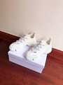 DIOR D-Connect sneaker in white neoprene dior sneaker dior women sneaker shoes  5