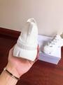 DIOR D-Connect sneaker in white neoprene dior sneaker dior women sneaker shoes  7