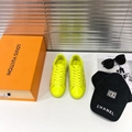 lv luxembourg sneaker 1A5S8Y Jaune  lv sneaker lv  yellow shoes lv men shoes  2