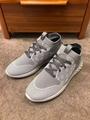 fastlane sneaker   comes in Damier knit 1A5ARF    sneaker grey    shoes   9