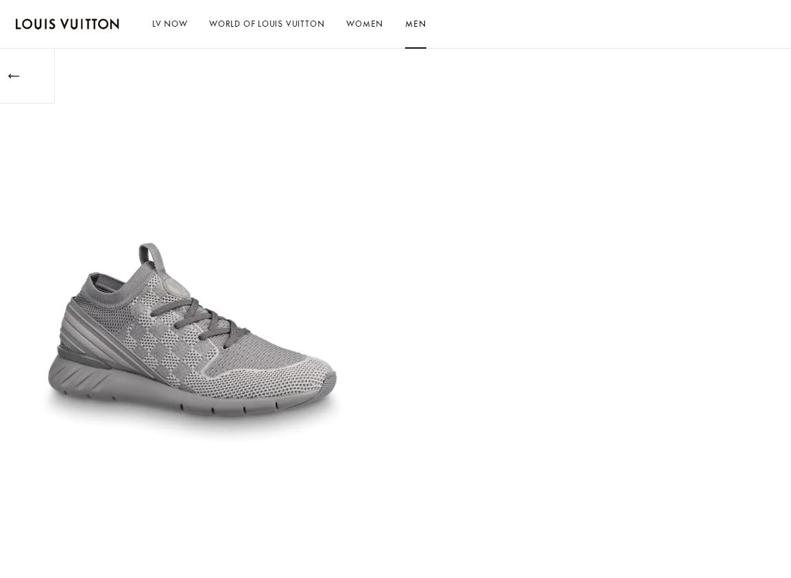 fastlane sneaker   comes in Damier knit 1A5ARF    sneaker grey    shoes   2