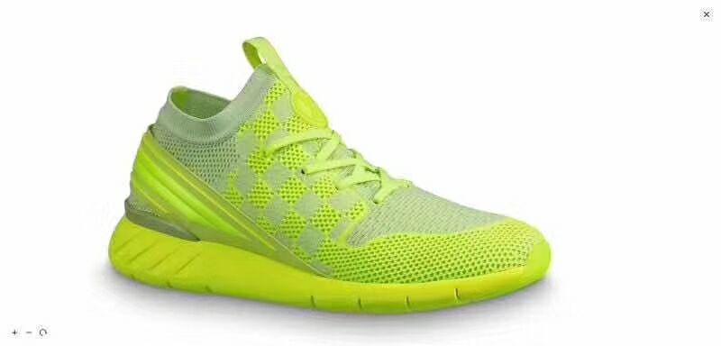 lv fastlane sneaker green color 1A5ARS lv sneaker lv shoes  1