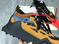 Off-White Black & Tan Odsy-1000 Sneakers Low-top offwhite sneaker  2