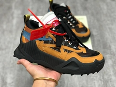 Off-White Black & Tan Odsy-1000 Sneakers Low-top offwhite sneaker