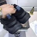 MCM Men's Himmel Low Top Sneakers in Suede MCM sneaker mcm shoes  2