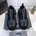 MCM Men's Himmel Low Top Sneakers in Suede MCM sneaker mcm shoes  6