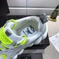 MCM Men's Himmel Low Top Sneakers in Suede white  5