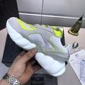 MCM Men's Himmel Low Top Sneakers in Suede white  6
