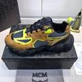 MCM Men's Low-Top Himmel Sneaker in Visetos Cognac VISETOS   8