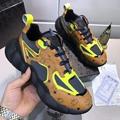 MCM Men's Low-Top Himmel Sneaker in Visetos Cognac VISETOS   1