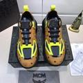 MCM Men's Low-Top Himmel Sneaker in Visetos Cognac VISETOS   9