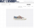 WALK'N'DIOR SNEAKER IN EMBROIDERED COTTON