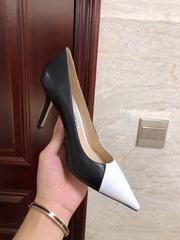 jimmy choo love 100 Black and White toe pump  jimmy choo shoes LOVE100ZYZ