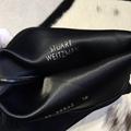 Stuart Weitzman THE TIELAND BOOT STRETCH SUEDE BLACK 7cm 7