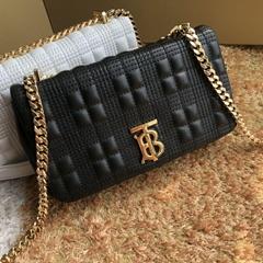 burberry Mini Quilted Lambskin Lola Bag Black 80231171 burberry bag