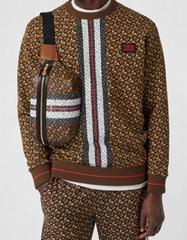 burberry Medium Monogram Stripe E-canvas Bum Bag 80214831 burberry waist bags