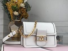 louis vuitton mini dauphine Blanc LV shouler bags
