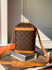 LV milk box monogram M44877  lv shoulder bags lv handbag