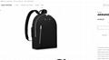 armand backpack taurillon M42687    men