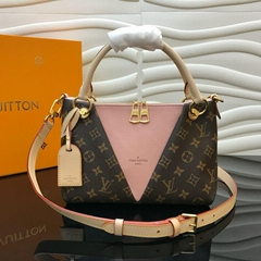 LV V TOTE BB handbags  rose poudre M43967
