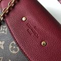 lv saint placide monogram canvas  shoulder/cross shoulder bag  M43715