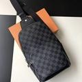 LV avenue sling bag Damier Graphite Canvas   N41719