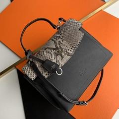 LV lockme ever mm python handbag  N97009 lv handbags