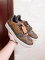 lv trainer sneaker 1A5UR7 lv men sneaker lv shoes Monogram canvas  lv men shoes  2